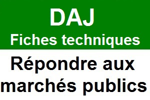 MAPA marches à procedure adaptee (Article 28 du CMP) - Fiche technique de la DAJ